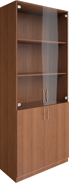 купить офисные шкафы со стеклянными дверцами недорого